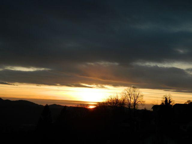 Sončni zahod - foto