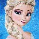 Elsa- Frozen (ledeno kraljestvo); slika na platno