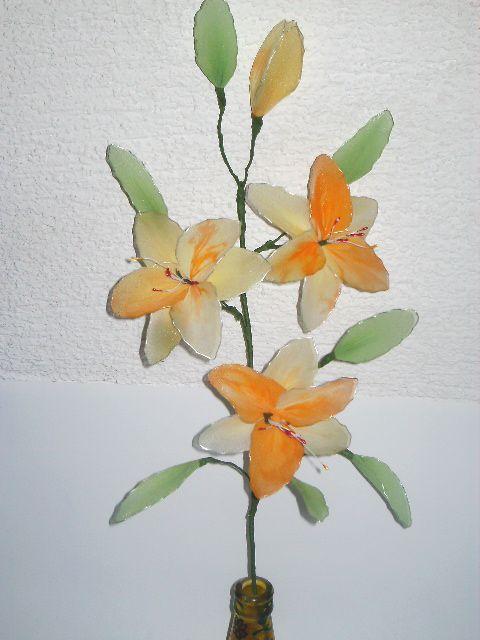 Oranžno-rumena lilija