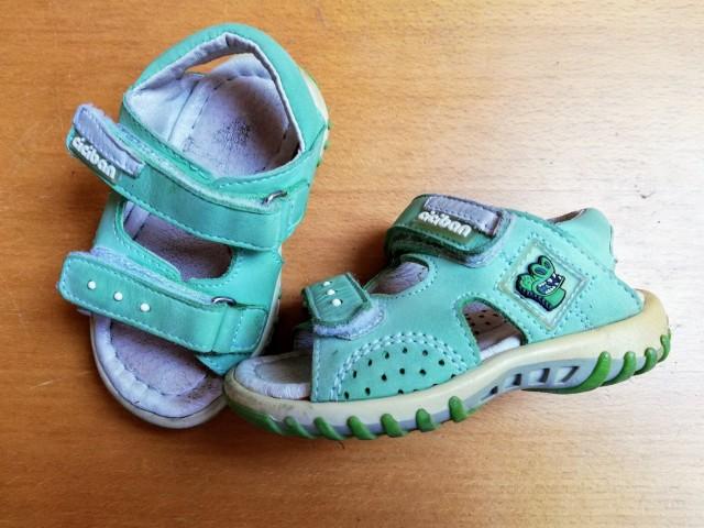 Sandali ciciban št. 20 = 2 eur