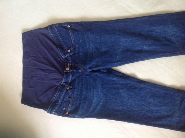 Nosecniske jeans hlace, HM, vel. 42, 5 eur