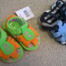 poletni sandalčki, 24, 25, vsake 2 eur