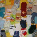 Komplet nogavičke od rojstva pa do 1leta le za 4,00€
