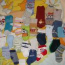 Kompolet nogavičk le za 4€
