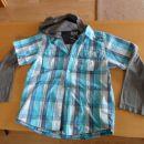 srajca s kapuco št. 134-140- spredaj- 3 eur
