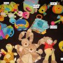 razne igrače vsaka od 2 do 4 EUR