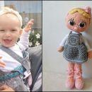 Lutka izdelana po podobi prave punčke