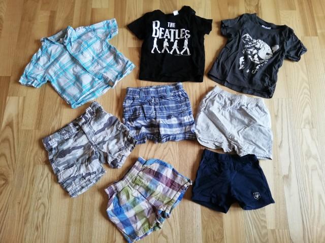 Kratke majice in hlače
