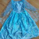 elsa pojoča obleka z lučkami 5-6 let- 30€