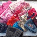 Oblačila za deklico, št. 74-98, 22 kosov