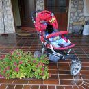 voziček, lupinica in počivalnik