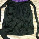 Vijolično-črna obleka