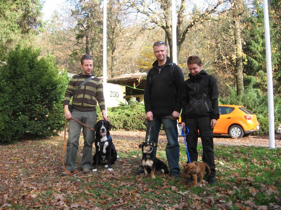Sebastijan&Pega, Lars&Skoki, Maja&Poco at the ZOO