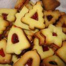 Preprosti piškoti s kulinarika.net - različica z marmelado
