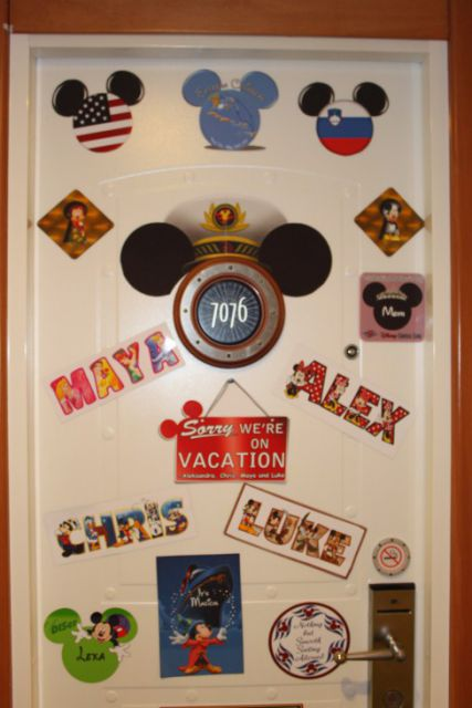 Know Before You Go: Disney Cruising Part 1 - The Mouse and the Monorail : disney door - Pezcame.Com