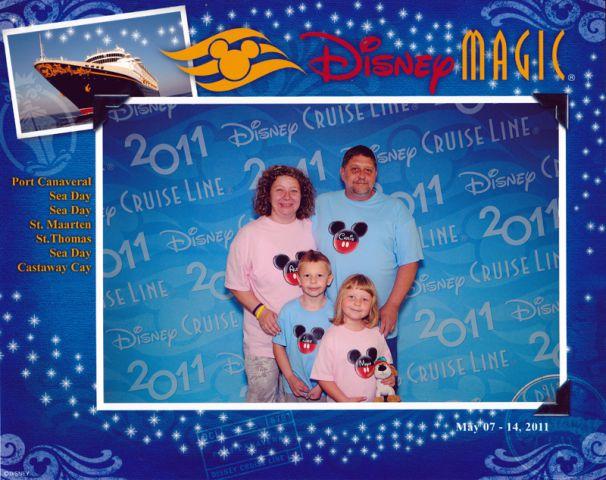 Disney krizarjenje na Karibih 2011 - foto