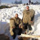 Yeti 1 in yeti 2 v snegu.