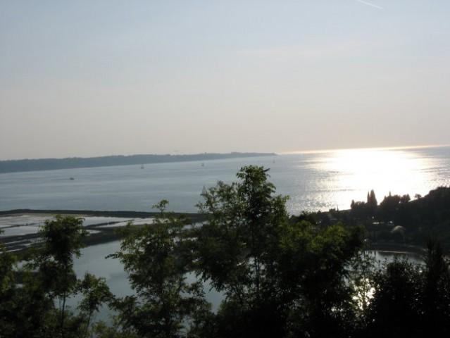 Zlato sonce gre za morje, bele sanje čez obzorje...