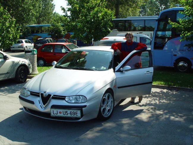 Alfa Romeo 156 TS - foto povečava