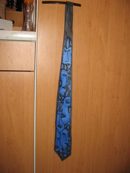 Kravata od umetnice Nelye ( http://nelya-silk.com )