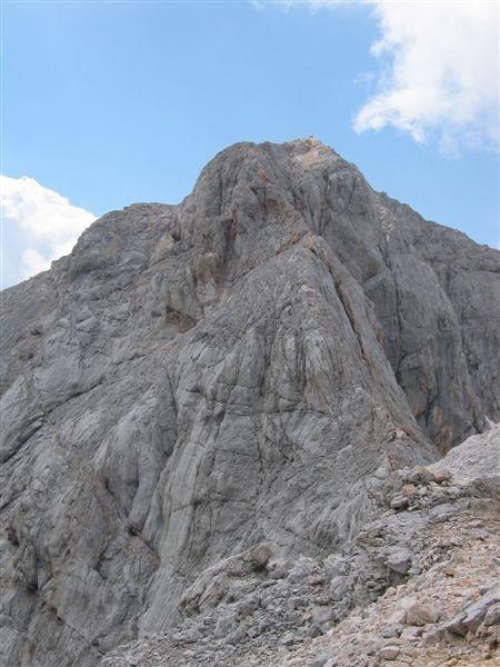 Na grebenu iz Malega Triglava na Triglav