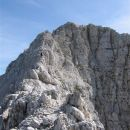 Na vrhu ozebnika, pogled proti vrhu Montaža