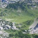 Pogled s Srebrnega sedla na Korošico
