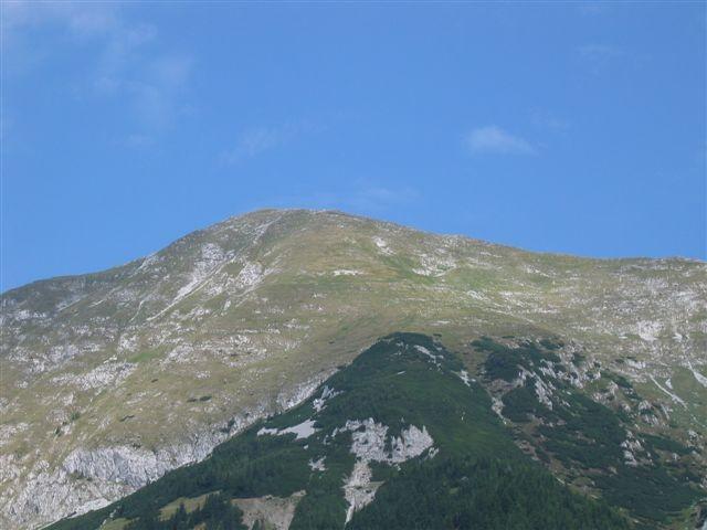 Veliki vrh v Košuti 23.7.2006 - foto