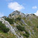Vzpon na vrh Begunjščice (Veliki vrh)