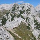 Mali Draški vrh nad Srenjskim prevalom