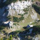Cerkev Svetega Cirila in Metoda ter stara Kocbekova koča