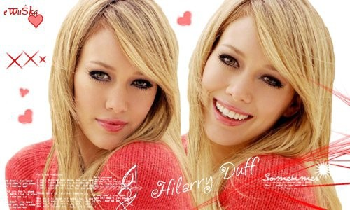 Banners Hilary Duff - foto