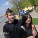 Johnny and Veky (just married) rofl