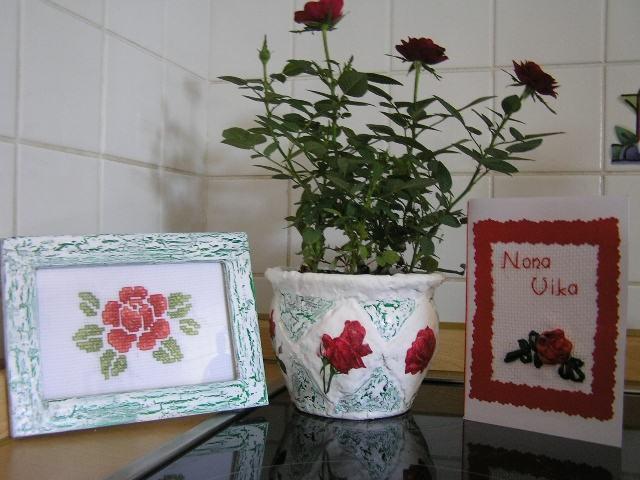 Tole pa je komplet vrtnic za nonin 80. rojstni dan.