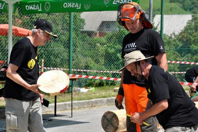 Gozdarsko tekmovanje  - foto