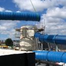 Gradnja cevnih toboganiv  BTC Atlantis
