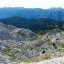 ®Simona Dernulc  ....in še pogled na prehojeno pot - dolina Za Kopico