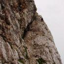 Početak uspona u stijeni