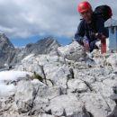Na vrhu Turske gore, lijevo Skuta i Kranjska Rinka