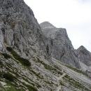 Prema stijeni na Hanzovi poti