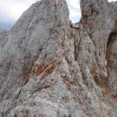 Po grebenu prema južnom vrhu Rjavine (2m niži)