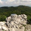 Mali Golak 1495m (v ozadju še srednji in Veliki Golak.)