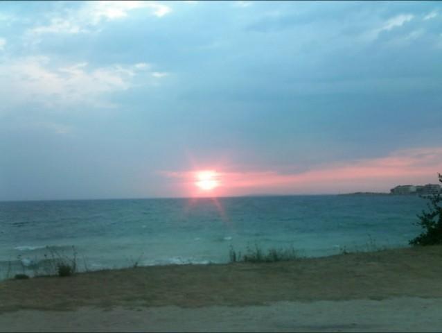 Sončni zahod v Povljani =)