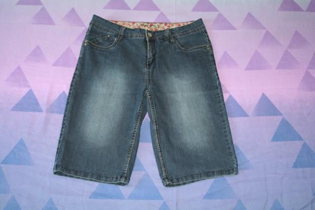 Kratke jeans hlače C&A št. 38,  5€