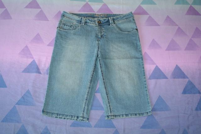 Kratke jeans hlače C&A št. 38,  6€