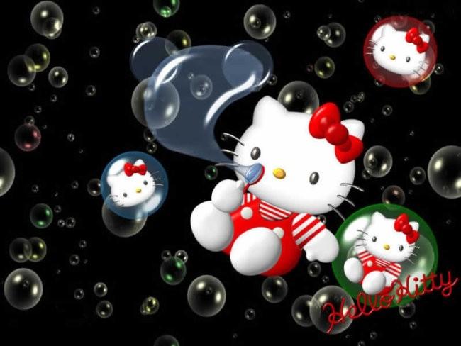 Hello Kitty - foto povečava