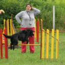 Lady in Katja pridno trenirata