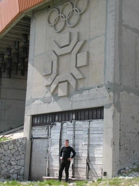 Objekti olimpijade na vrhu Bjelašnice