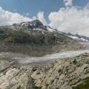 Ledenik na Belvederu - pod Furkapass-om