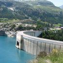 jezero pod Tignes-om